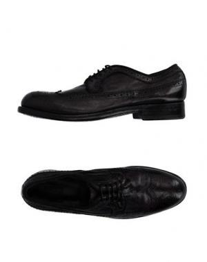 Обувь на шнурках PREVENTI. Цвет: баклажанный