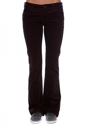 Джинсы прямые женские  Chloe Brown Elwood. Цвет: коричневый