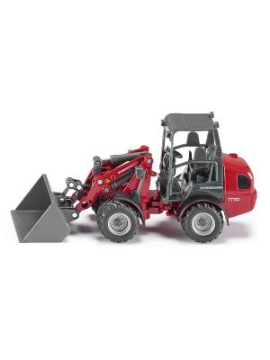 Трактор садовый SIKU. Цвет: серый, бордовый, красный