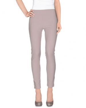 Повседневные брюки FAIRLY. Цвет: голубиный серый