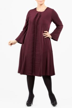 Платье Zedd Plus. Цвет: bordeaux