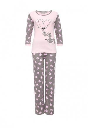 Пижама TrendyAngel. Цвет: серый
