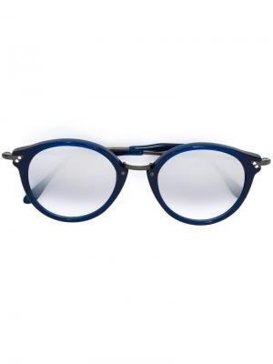 Солнцезащитные очки Pin Kyme. Цвет: синий