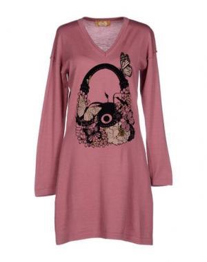 Короткое платье EAN 13. Цвет: пастельно-розовый