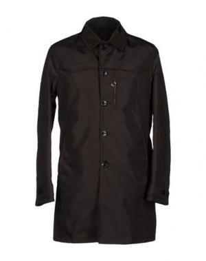 Легкое пальто MARIO MATTEO. Цвет: темно-коричневый