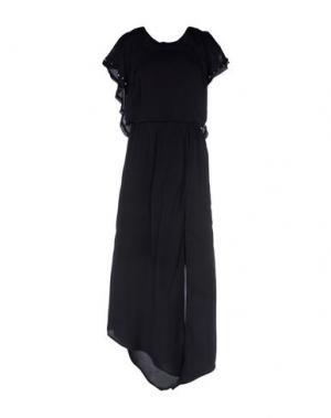 Длинное платье NÜ DENMARK. Цвет: черный