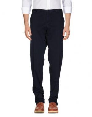 Повседневные брюки GERMANO. Цвет: темно-синий