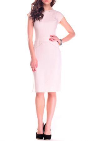 Платье REBECCA TATTI. Цвет: светло-бежевый