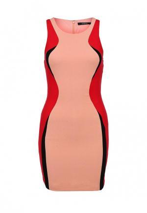 Платье Ark & co. Цвет: разноцветный