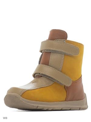 Ботинки ФОМА. Цвет: темно-коричневый, светло-коричневый