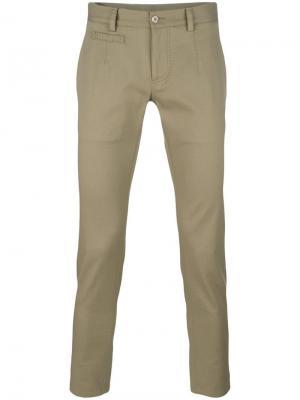 Укороченные брюки Dolce & Gabbana. Цвет: телесный