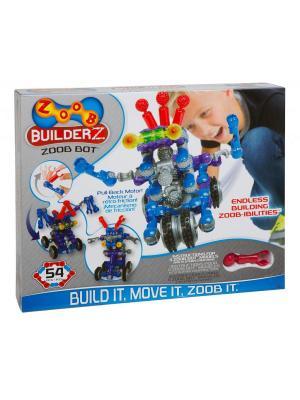 Конструктор ZOOB Builder-Z BOT Building Set. Цвет: синий, серый, фиолетовый