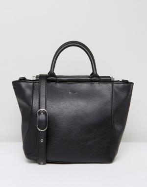 Matt & nat Черная сумка-тоут Kari. Цвет: черный