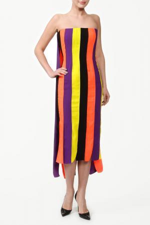 Платье Roksanda Ilincic. Цвет: мультицвет, полосы