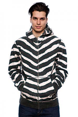 Толстовка  Cobra Hood Fleece Black/White/Striker Fallen. Цвет: черный,белый