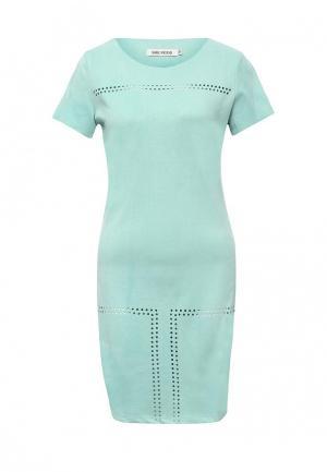 Платье SHK Mode. Цвет: бирюзовый