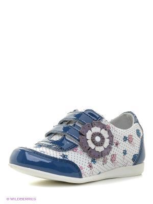 Ботинки KENKA. Цвет: синий