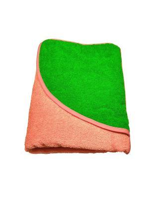 Полотенце-уголок Baby Swimmer. Цвет: розовый