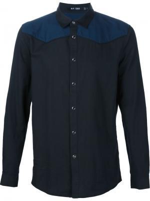 Рубашка с панельным дизайном Blk Dnm. Цвет: чёрный