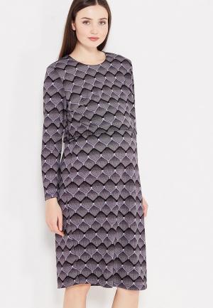 Платье Фэст. Цвет: серый