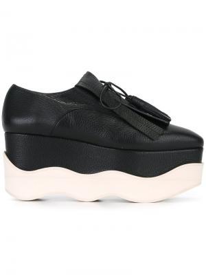 Туфли на платформе Paloma Barceló. Цвет: чёрный