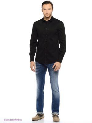 Рубашка Trussardi. Цвет: черный