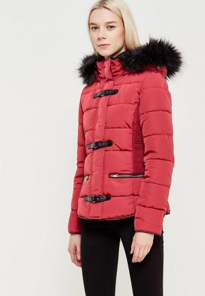Куртка утепленная Jennyfer. Цвет: бордовый