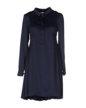Короткое платье TWENTY8TWELVE. Цвет: темно-синий