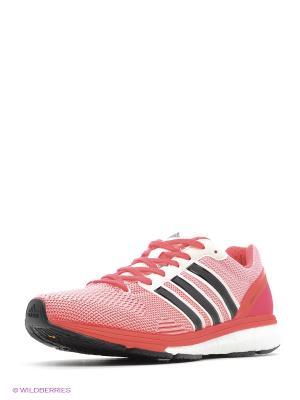 Кроссовки Adizero Boston 5 Ts Adidas. Цвет: белый