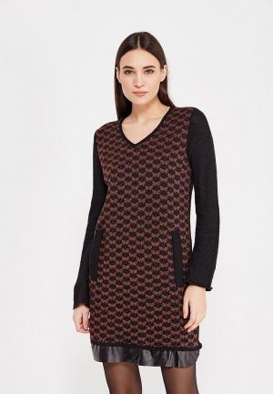 Платье Camomilla Italia. Цвет: коричневый