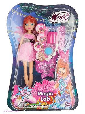 Кукла Winx Club Магическая лаборатория  Bloom. Цвет: оранжевый, розовый