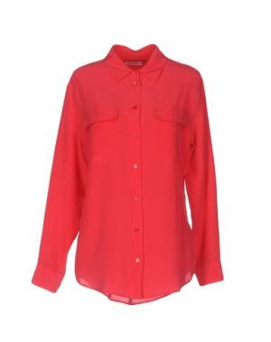 Pубашка EQUIPMENT FEMME. Цвет: пурпурный