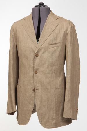 Костюм: пиджак, брюки Pal Zileri. Цвет: бежевый