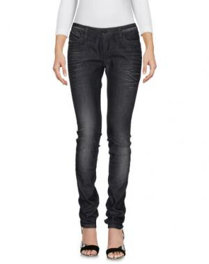 Джинсовые брюки PARIS HILTON. Цвет: черный