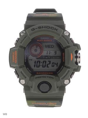 Часы G-Shock GW-9400CMJ-3E CASIO. Цвет: хаки