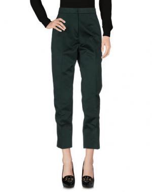 Повседневные брюки ROCHAS. Цвет: зеленый