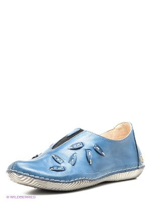 Туфли Atiker. Цвет: синий