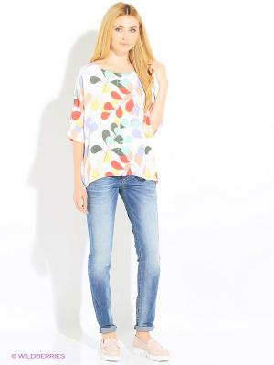 Oversize-блуза Rosa&Friends. Цвет: молочный