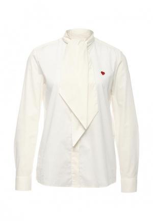 Блуза Love Moschino. Цвет: белый