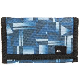 Кошелек  Everyday Blue Miror Quiksilver. Цвет: серый,синий