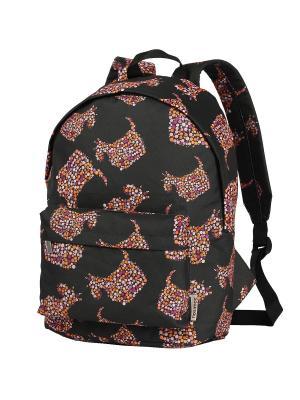 Рюкзак NOSIMOE. Цвет: черный, оранжевый