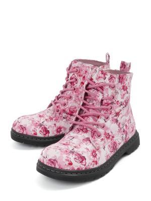 Ботинки VivaKid. Цвет: розовый
