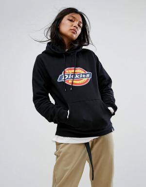 Dickies Oversize-худи с логотипом. Цвет: черный