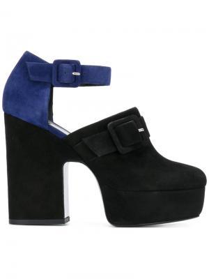 Туфли-лодочки на платформе Pierre Hardy. Цвет: чёрный