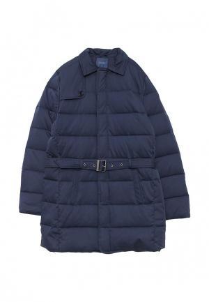 Куртка утепленная Guess. Цвет: синий