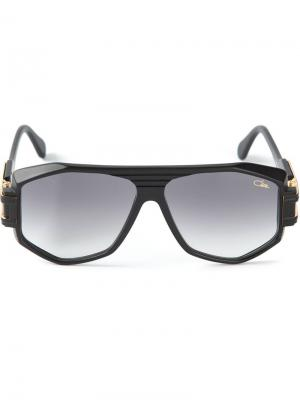 Солнечные очки геометрической формы Cazal. Цвет: чёрный