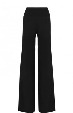 Однотонные расклешенные брюки с карманами Rick Owens. Цвет: черный