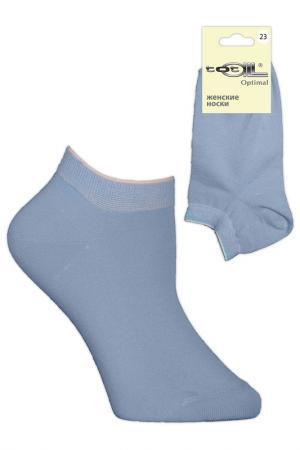 Носки женские Totall. Цвет: св.голубой