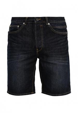 Шорты джинсовые Solid. Цвет: синий