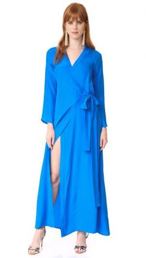 Платье Jagger Rhode Resort. Цвет: голубой
